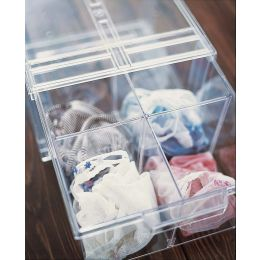 Acrylic Drawer Divider Clear | UK Exclusive @ The Holding Company.