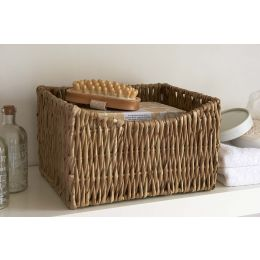 Woven Grass Basket With Dipped Front | @ The Holding Company