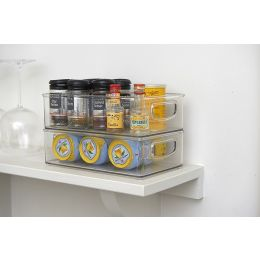 InterDesign | Kitchen Storage Bin With Cut Out Handles Clear