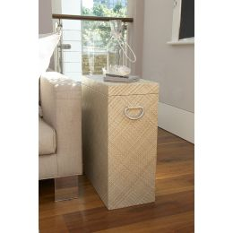 Woven Storage Side Table | @ The Holding Company