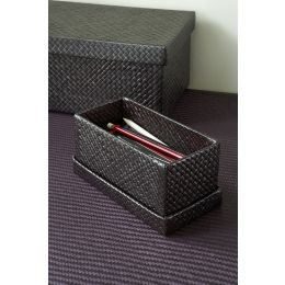 Storage Box Pandanus Grass Brown