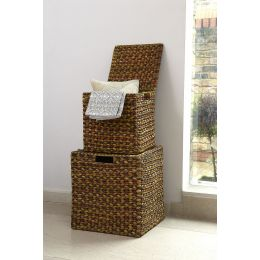 Water Hyacinth Storage Cube | @ The Holding Company