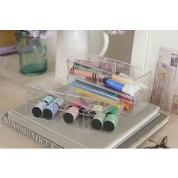 Plastic Organisers 3 Pack Rectangular| @ The Holding Company