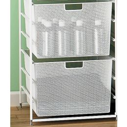 Deep Mesh Drawer | Elfa