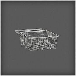 | Elfa |  Gliding Medium Wire Drawer with Frame