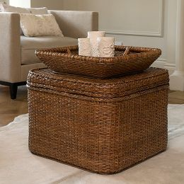 Rattan Square Chest| @ The Holding Company
