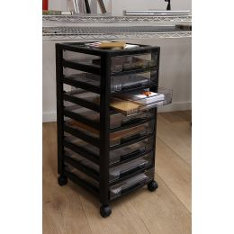 Plastic Drawer Storage Unit