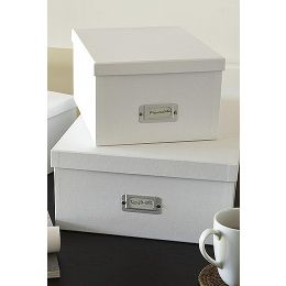 Document Boxes Ulrika - 2 Pack | Bigso