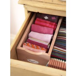 Woodlore Cedar Sock Box | Woodlore