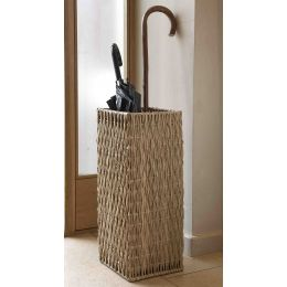Wicker Square Umbrella Basket Natural Gebang