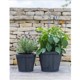 Fluted Vence Planters Set of Two | Garden Trading Company