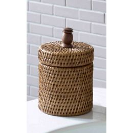 Cotton Wool Pot with Lid| @ The Holding Company