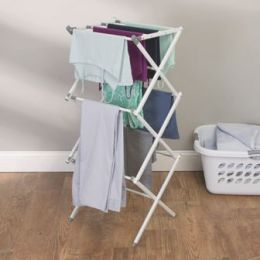 InterDesign | 3 Tier Laundry Drying Rack
