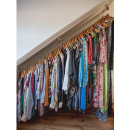 Zebedee Waterfall Clothes Hanging Rail Rack