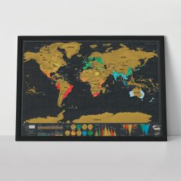 Scratch Map - Travel Deluxe Edition