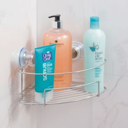 InterDesign | Wire Suction Corner Shelf