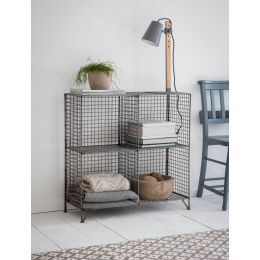 Small Camden Mesh Shelving Unit