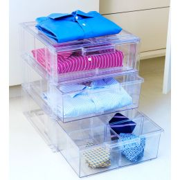 Shirt Storage: Stackable Drawer | UK Exclusive @ The Holding Company.