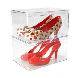 Clear Shoe Box | Ladies Shoe Box