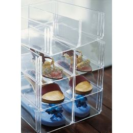 Stackable Shoe Bin Storage | UK Exclusive @ The Holding Company.