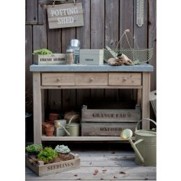 Chunky Potting Table | Garden Trading Company
