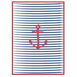 Set of 2 Nautical Tea Towels| Incidence
