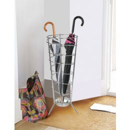 Spiral Steel Umbrella Holder | Cool Umbrella Stand