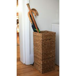 Handwoven Water Hyacinth Umbrella Stand