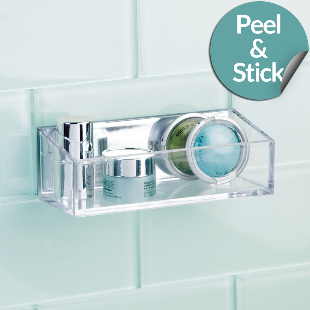 InterDesign   Peel and Stick Cosmetic Organiser Shallow - The ...