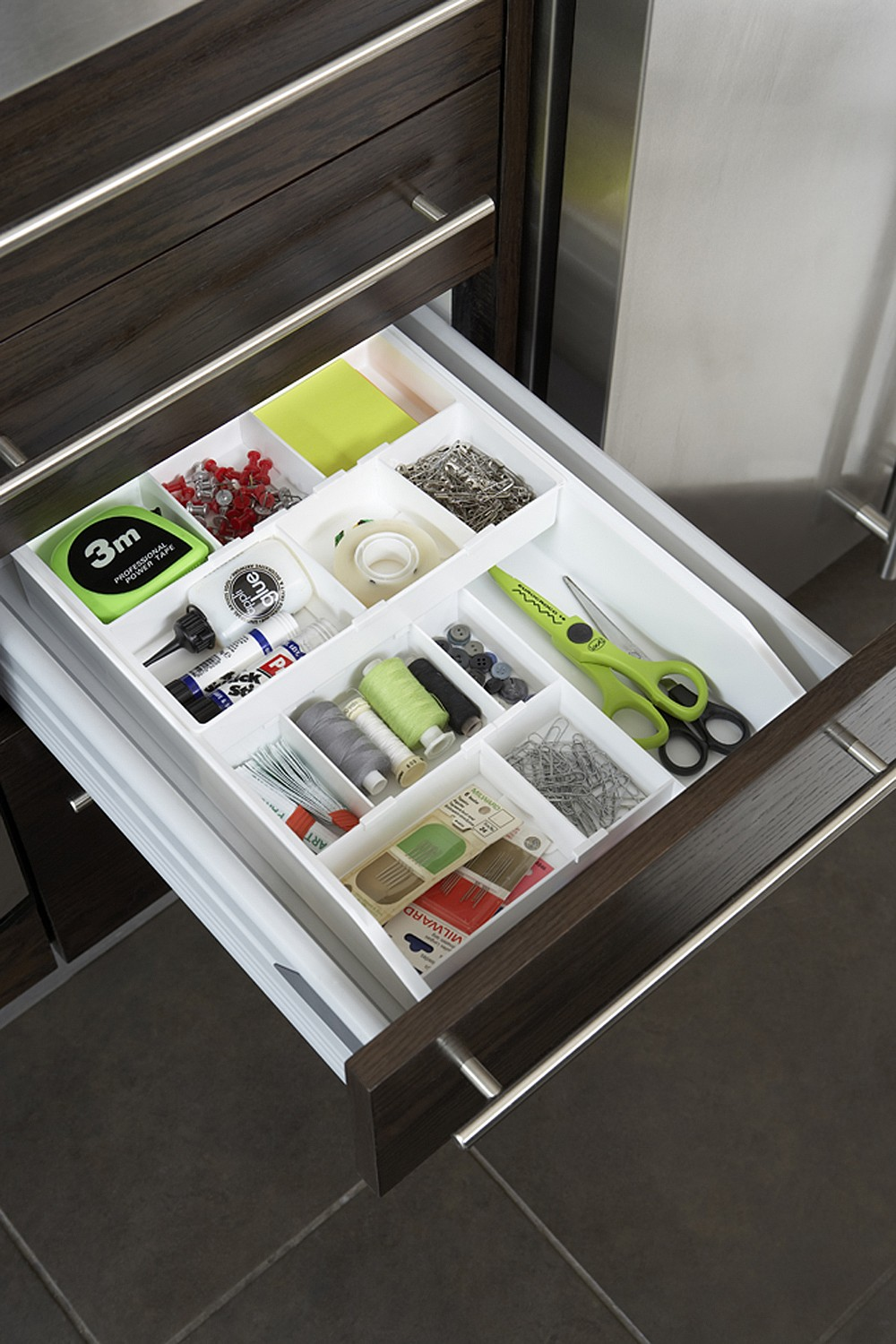 Drawer Organiser with Adjustable Dividers The Holding Company