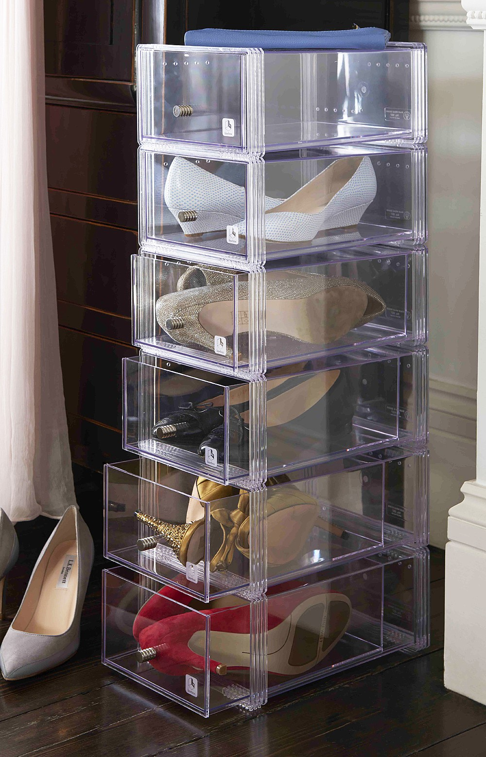 plastic stackable sterilite home storage drawers category