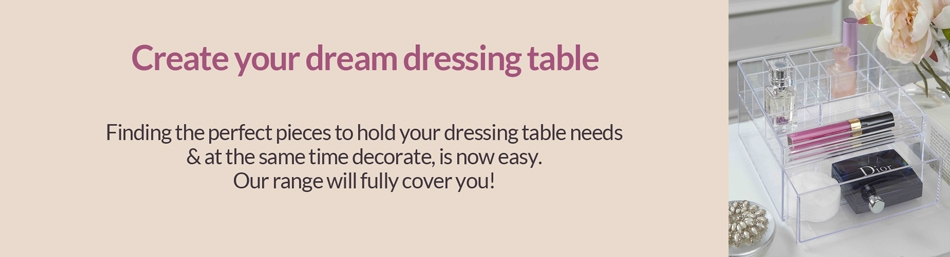 Dressing Table Organisers
