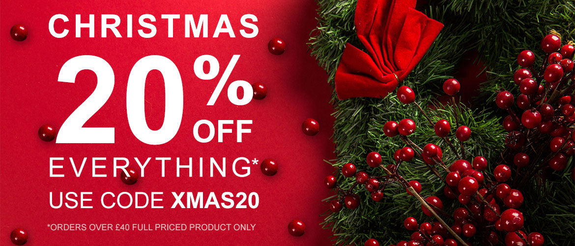 Christmas 20%Off Everything*