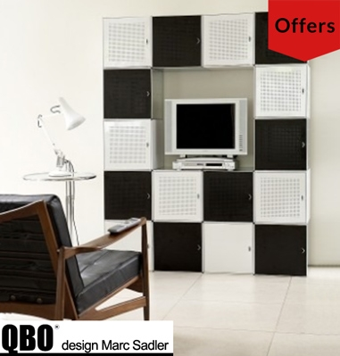 QBO metal storage cubes