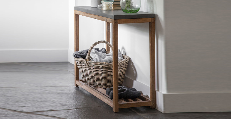CHILSOM LARGE CONSOLE TABLE
