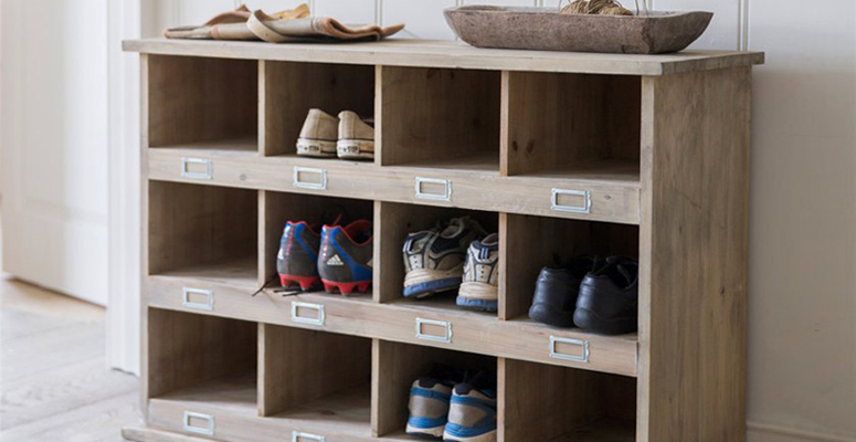 Wooden Chedworth Shoe Lockers