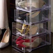 shoe storage boxes